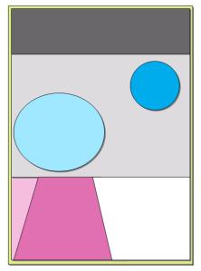 Diese Grafik zeigt eine gelungene Merkmalsabgrenzung: Die Ausprägungen überlappen nicht und decken doch den gesamten Merkmalsraum ab.