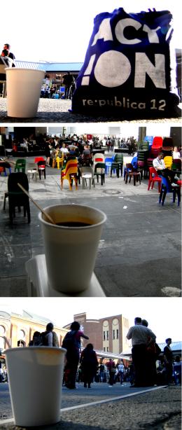 Nichts zu beanstanden: Kaffee auf der re:publica 12. (Bilder: Matthias Galle)