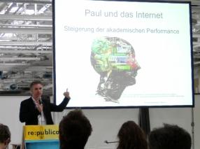 Kai Sostmann, Kinderarzt und Experte für eLearning von der Berliner Charité (Foto: Matthias Galle)