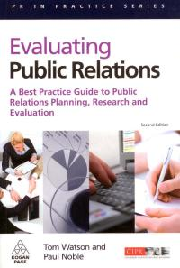 Buchdeckel Evaluating Public Relations