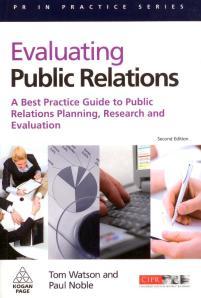 Buchdeckel Evaluating Public Relations