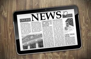 iPad mit Zeitungsmotiv © stockWERK von Fotolia