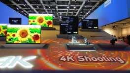 Die neuesten TV Geräte mit Ultra-HD Auflösung. Hier präsentiert von Panasonic.